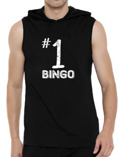 Number 1 Bingo Hooded Sleeveless T-Shirt - Mens