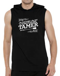Andean Condor tamer Hooded Sleeveless T-Shirt - Mens