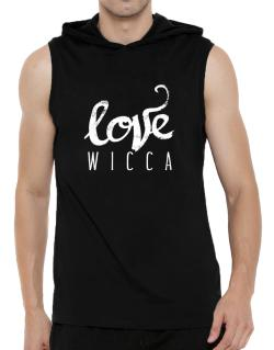 Love Wicca 2 Hooded Sleeveless T-Shirt - Mens