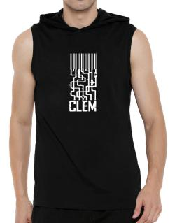 Barcode Clem Hooded Sleeveless T-Shirt - Mens