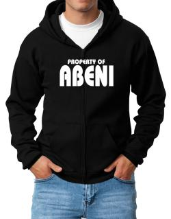 Property Of Abeni Zip Hoodie - Mens