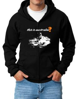 This Is Australia? - Astronaut Zip Hoodie - Mens