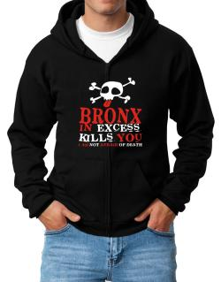 Bronx In Excess Kills You - I Am Not Afraid Of Death Zip Hoodie - Mens