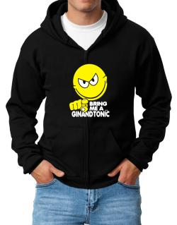 Bring Me A ... Gin And Tonic Zip Hoodie - Mens