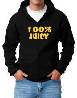 100% Juicy Zip Hoodie - Mens