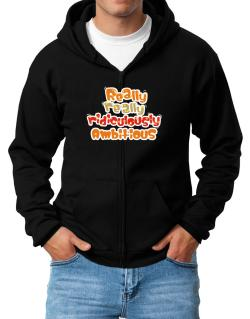 Really Really Ridiculously Ambitious Zip Hoodie - Mens