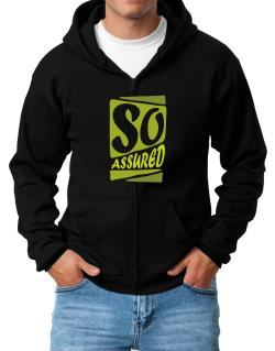So Assured Zip Hoodie - Mens