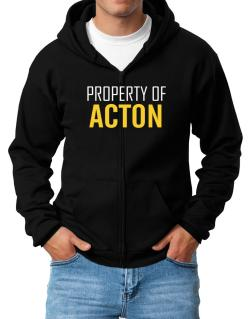 Property Of Acton Zip Hoodie - Mens