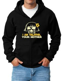 I Am Talitha, Your Mother Zip Hoodie - Mens