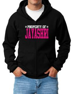 Property Of Jayashri Zip Hoodie - Mens