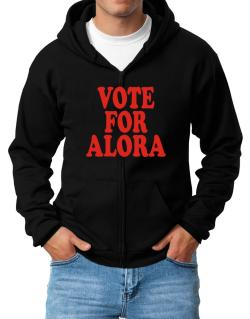 Vote For Alora Zip Hoodie - Mens