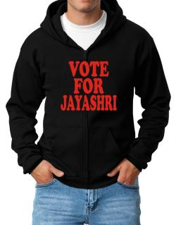 Vote For Jayashri Zip Hoodie - Mens