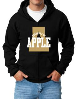 Property Of Apple Zip Hoodie - Mens