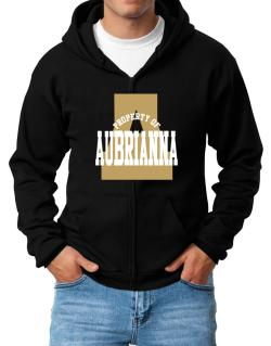 Property Of Aubrianna Zip Hoodie - Mens