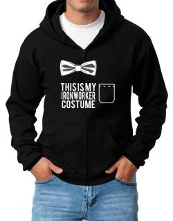 this is my Ironworker costume Zip Hoodie - Mens