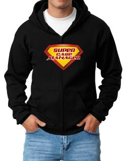 Super Case Manager Zip Hoodie - Mens