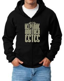 Help Me To Make Another Estes Zip Hoodie - Mens