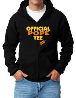 Official Pope Tee - Original Zip Hoodie - Mens
