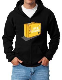 Take Me To Kabarole Zip Hoodie - Mens