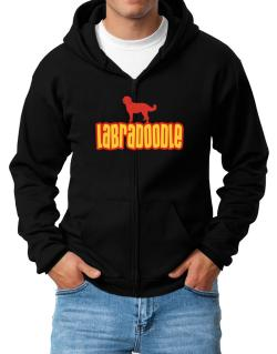 Breed Color Labradoodle Zip Hoodie - Mens