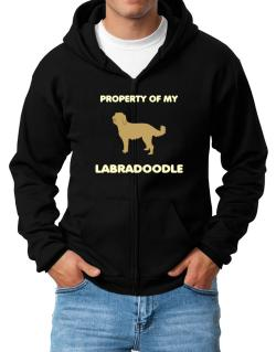 Property Of My Labradoodle Zip Hoodie - Mens