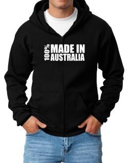 100% Made In Australia Zip Hoodie - Mens