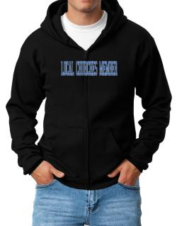 Local Churches Member - Simple Athletic Zip Hoodie - Mens