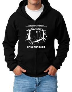 Ancient Semitic Religions Interested Power Zip Hoodie - Mens