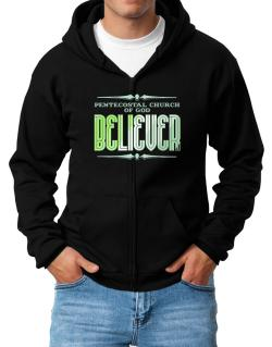 Pentecostal Church Of God Believer Zip Hoodie - Mens