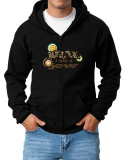 Relax, I Am A Jew Zip Hoodie - Mens