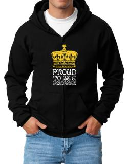 Proud To Be An Episcopalian Zip Hoodie - Mens