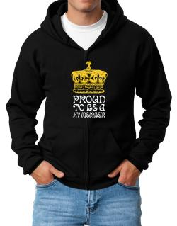 Proud To Be A Hy Member Zip Hoodie - Mens