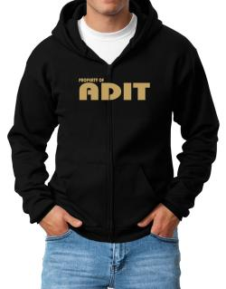 Property Of Adit Zip Hoodie - Mens