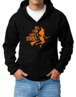 Yes, I Can Drive A Stick! Zip Hoodie - Mens