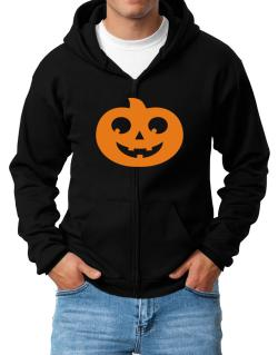 Belly pumpkin Zip Hoodie - Mens