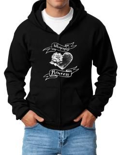Anthroposophy princess Zip Hoodie - Mens
