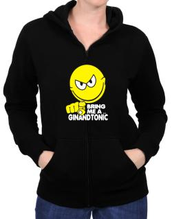 Bring Me A ... Gin And Tonic Zip Hoodie - Womens