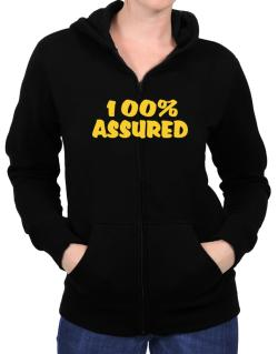 100% Assured Zip Hoodie - Womens