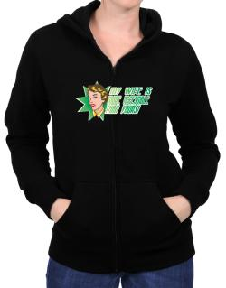 My Wife Is More Accessible Than Yours! Zip Hoodie - Womens