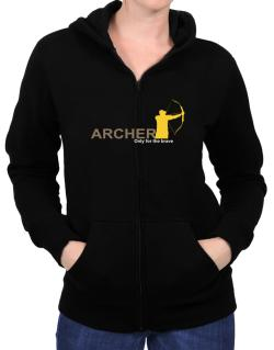 Archery - Only For The Brave Zip Hoodie - Womens