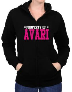 Property Of Avari Zip Hoodie - Womens