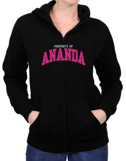 Property Of Ananda Zip Hoodie - Womens