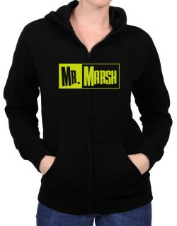 Mr. Marsh Zip Hoodie - Womens