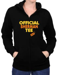 Official Sherman Tee - Original Zip Hoodie - Womens