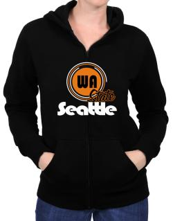 Seattle - State Zip Hoodie - Womens
