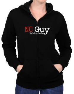 Guy Made In Asheville Zip Hoodie - Womens