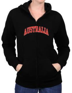 Australia - Simple Zip Hoodie - Womens