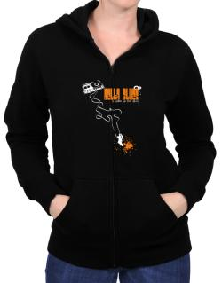 Delta Blues It Makes Me Feel Alive ! Zip Hoodie - Womens