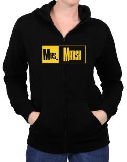 Mrs. Marsh Zip Hoodie - Womens