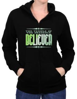 The Temple Of The Presence Believer Zip Hoodie - Womens